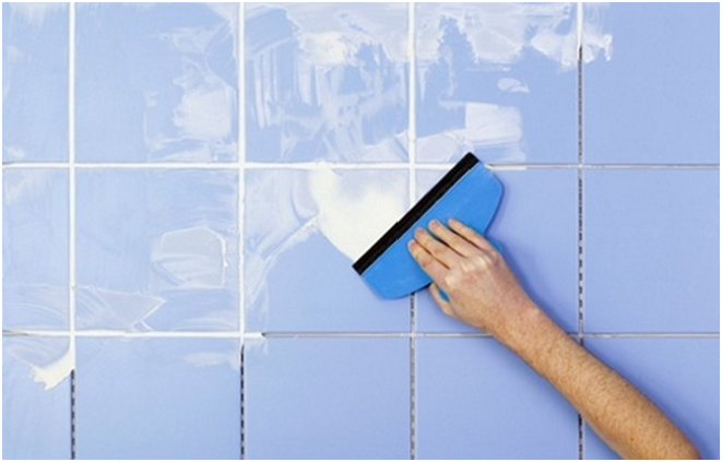 Bathroom Tile Grouting