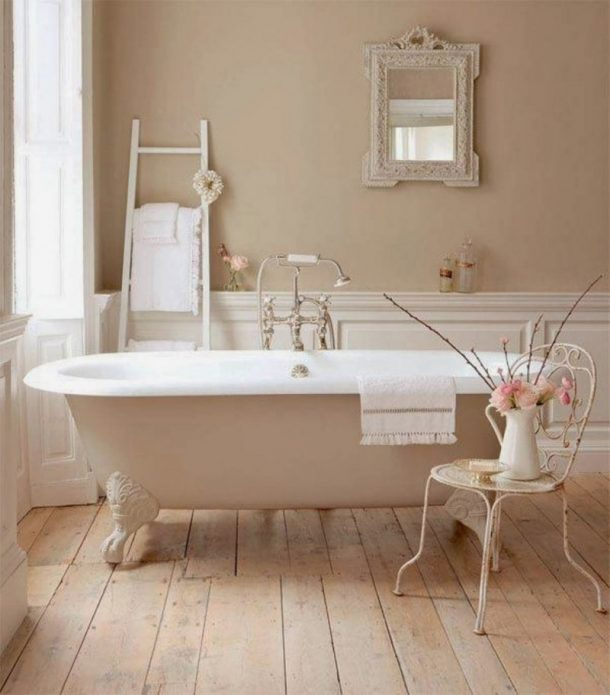 wood grain bathroom design